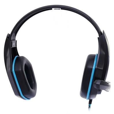 Headset Gamer Hoopson, Drivers 40mm, Preto/Azul - GA-01