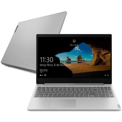 Notebook Lenovo Ultrafino Ideapad S145, AMD Ryzen 7-3700U, 8GB, SSD 256GB, Windows 10, 15.6´, Prata - 81V70000BR