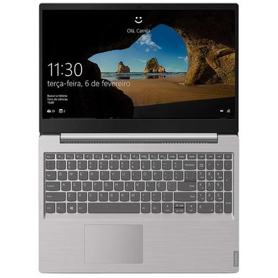 Notebook Lenovo Ultrafino Ideapad S145, AMD Ryzen 7-3700U, 4GB, SSD 256GB, Windows 10, 15.6´, Prata - 81V70000BR