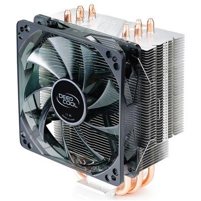 Cooler para Processador DeepCool Gammaxx 400 Blue Bssic, LED, AMD/Intel - DP-MCH4-GMX400P-BL