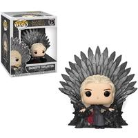 Funko POP! Daenerys Targaryen Sitting On Iron Throne, Game Of Thrones S10 Deluxe - 37792