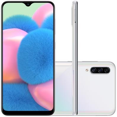 Smartphone Samsung Galaxy A30s, 64GB, 25MP, Tela 6.4´, TV Digital, Branco - SM-A307GZWBZTO