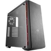 Gabinete Gamer Cooler Master MB600L, Mid Tower, com FAN, Lateral em Acrílico, Preto/Vermelho - MCB-B600L-KA5N-S00