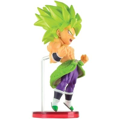 Action Figure WCF Dragon Ball Super Movie World, Super Saiyan Broly Full Power - 28976/28978