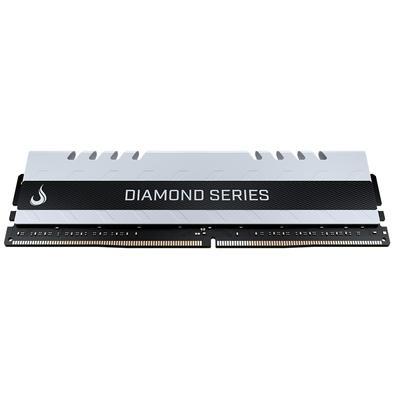 Memória Rise Mode Diamond 16GB, 3200MHz, DDR4, CL15, White - RM-D4-16G-3200D