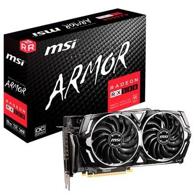 Placa de Vídeo MSI AMD Radeon RX 580 Armor X, 8GB, GDDR5 - RX 580 ARMOR X