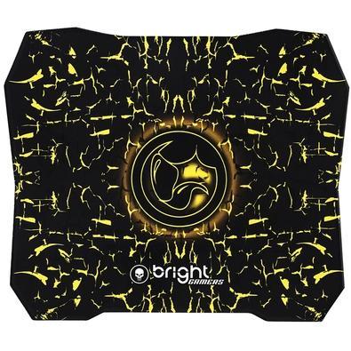 Mousepad Gamer Bright, Speed, Médio (270x240mm), Amarelo - 0429
