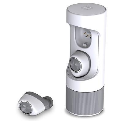 Fone de Ouvido Bluetooth Motorola VerveOnes, com Microfone, Recarregável, À Prova D´Água, Branco - SH010WH