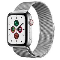 Apple Watch Series 5, GPS + Cellular, 44mm, Prata, Pulseira Prata - MWWG2BZ/A