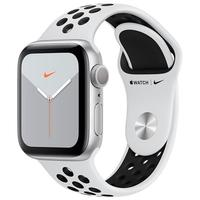 Apple Watch Nike Series 5, GPS, 40mm, Pulseira Preta/Cinza - MX3R2BZ/A