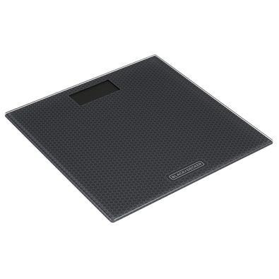 Balança de Banheiro Black + Decker, Vidro, Até 180kg - BK40-BR