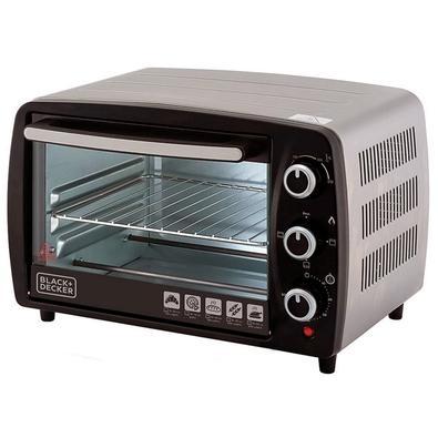 Forno Elétrico Black + Decker Bake Chef, 16 Litros, 110V, Preto e Inox - FT16-BR