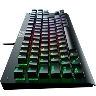 Teclado Mecânico Gamer Redragon Dark Avenger, RGB, Switch Outemu Red, ABNT2 - K568RGB-2 (RED)