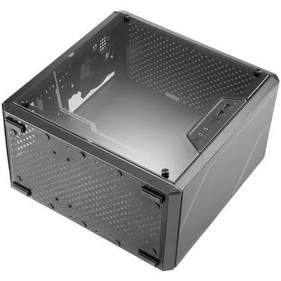 Gabinete Gamer Cooler Master Masterbox Q300L TUF, Mini Tower, com FAN, Lateral em Acrílico - MCB-Q300L-KANN-TUF