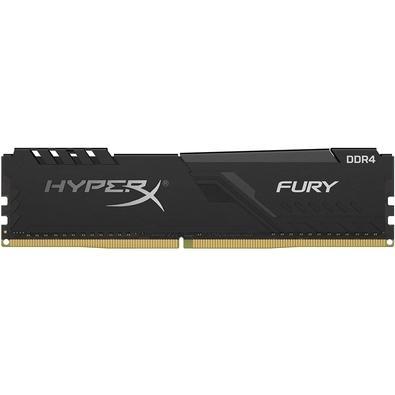 Memória HyperX Fury, 8GB, 3600MHz, DDR4, CL17, Preto - HX436C17FB3/8