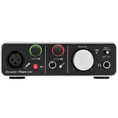 Interface de Áudio Focusrite - iTrack Solo Lightning