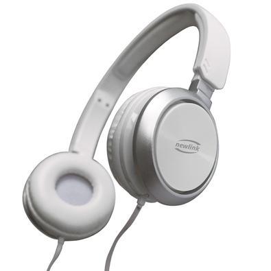 Headphone Newlink Premium White, P2, Branco - HS115