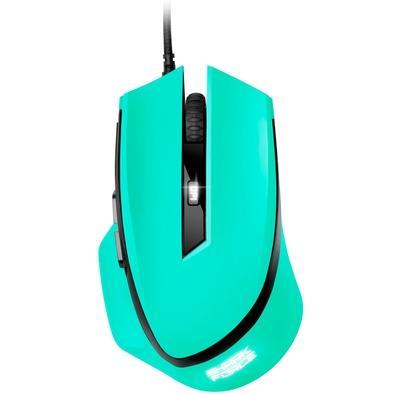 Mouse Gamer Sharkoon Shark Force, LED, 6 Botões, Mint