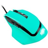 Mouse Gamer Sharkoon Shark Force, LED, 6 Botões, Mint
