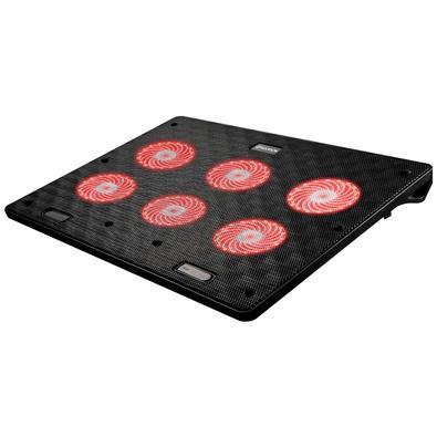Base para Notebook Hoopson BPN-002, com Cooler, LED Vermelho, Ângulo Ajustável - BPN-002