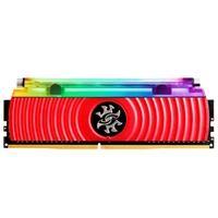 Memória XPG Spectrix D80, RGB, 8GB, 4133MHz, DDR4, CL19, Vermelho - AX4U413338G19-SR80