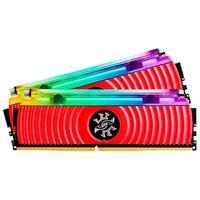Memória XPG Spectrix D80, RGB, 16GB (2x8GB), 3000MHz, DDR4, CL16, Vermelho - AX4U300038G16-DR80