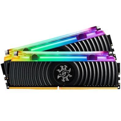 Memória XPG Spectrix D80, RGB, 16GB (2x8GB), 3000MHz, DDR4, CL16 - AX4U300038G16-DB80