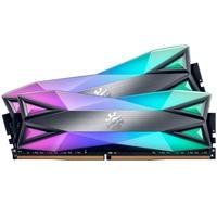 Memória XPG Spectrix D60G, RGB, 32GB (2x16GB), 3200MHz, DDR4, CL16 - AX4U3200316G16A-DT60