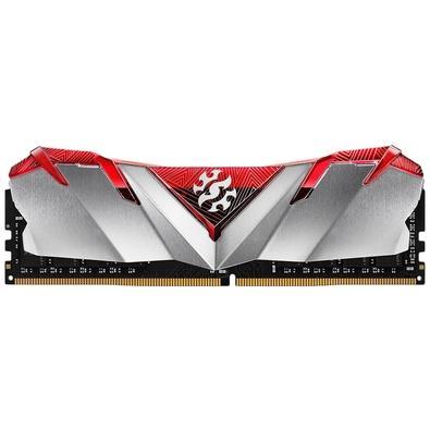 Memória XPG Gammix D30, 8GB, 2666MHz, DDR4, CL16, Vermelho - AX4U266638G16-SR30