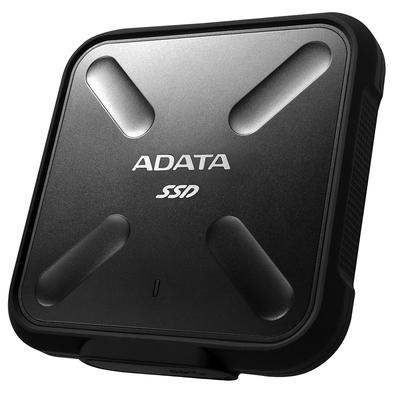 SSD Externo Adata SD700, 1TB, USB 3.2, Preto - ASD700-1TU31-CBK