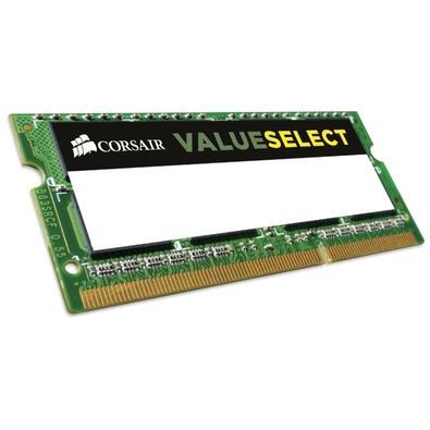 Memória Corsair Value Select Para Notebook 8GB (2x4GB) 1600Mhz DDR3 C11 - CMSO8GX3M2C1600C11