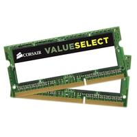 Memória Corsair Value Select Para Notebook 8GB (2x4GB) 1600Mhz DDR3 C11 - CMSO8GX3M2C1600C11