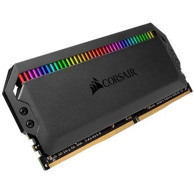 Memória Corsair Dominator RGB 32GB (4x8GB) 3466MHz  DDR4  C16 Black - CMT32GX4M4C3466C16