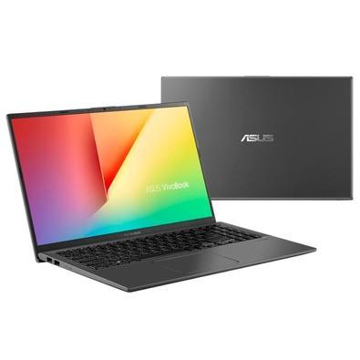 Notebook Asus VivoBook, Intel Core i7-8565U, 8GB, 1TB, NVIDIA MX230, Windows 10 Home, 15.6´, Cinza - X512FJ-EJ227T
