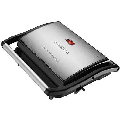 Grill Mondial Master Press 2 em 1, 220V, Inox - PG-01