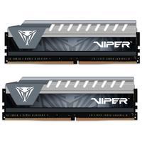 Memória Patriot Viper Elite 16GB (2x8GB), 2666MHz, DDR4, CL16, Cinza - PVE416G266C6KGY