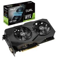 Placa de Vídeo Asus NVIDIA Dual GeForce RTX 2060 EVO OC, 6GB, GDDR6 - DUAL-RTX2060-O6G-EVO