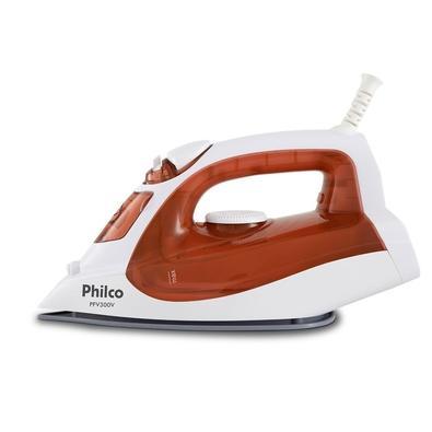 Ferro de Passar a Vapor Philco PFV300V, 1200W, 110V, Vermelho/Branco - 53601019