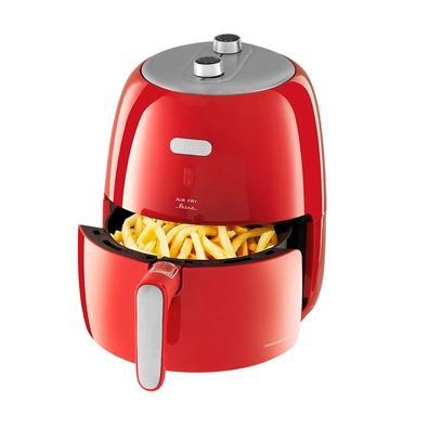 Fritadeira Sem Óleo Philco Air Fry Retrô PFR04V, 3.2 Litros, 220V, Vermelha - 53802041