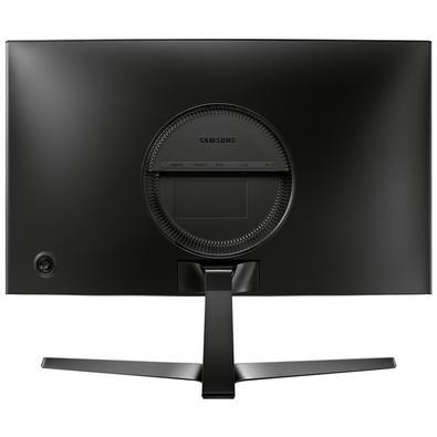 Monitor Gamer Samsung 23.5´, Curvo, Full HD, HDMI/DisplayPort, FreeSync, 144Hz, Inclinação Ajustável - LC24RG50FQLMZD