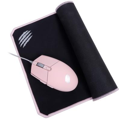 Kit Gamer OEX Game Combo Arya - Mouse LED + Mousepad, Speed, 320x240mm, Rosa - MC104