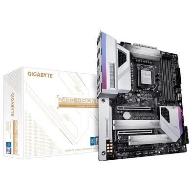 Placa-Mãe Gigabyte Z490 Vision G, Intel LGA 1200, ATX, DDR4 - Z490 VISION G