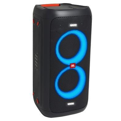 Caixa de Som Torre JBL PartyBox 100, LED, Bluetooth, 160W RMS - JBLPARTYBOX100BR