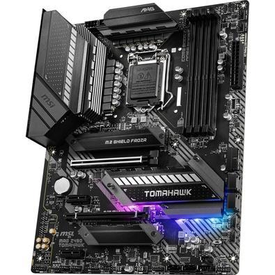Placa-mãe MSI MAG Z490 TOMAHAWK, Intel LGA 1200, ATX, DDR4