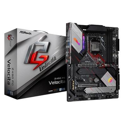 Placa-Mãe ASRock Z490 PG Velocita, Intel LGA 1200, ATX, DDR4