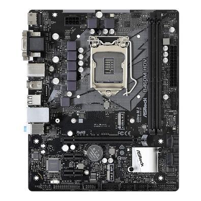 Placa-Mãe ASRock B460M-HDV, Intel LGA 1200, Micro ATX, DDR4
