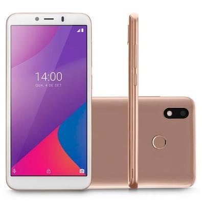 Smartphone Multilaser G Max, 32GB, 5MP, Tela 6´, Dourado + Capa e Película - P9108