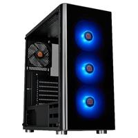 Gabinete Gamer Thermaltake V200, Mid Tower, RGB, com FAN, Lateral em Vidro - CA-1K8-00M1WN-01