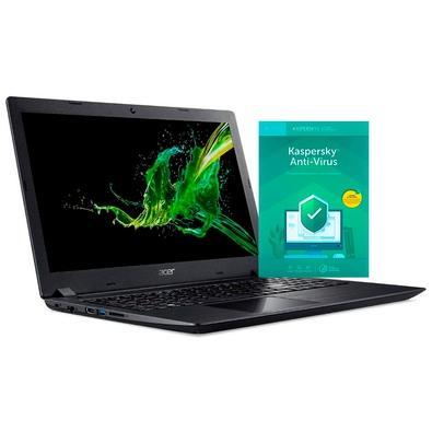 Notebook Acer AMD Ryzen 3 3200U, 8GB, 1TB, Windows 10 Home, 15.6´ - A315-42-R5W8 + Kaspersky Antivírus 2019 3 PCs - Digital para Download