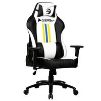 Cadeira Gamer Bluecase Sirius White/Yellow/Blue/Black - BCH35WYBBK